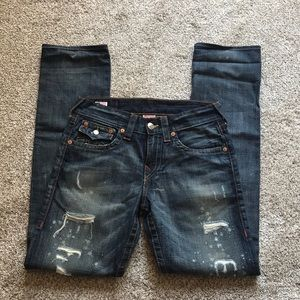 True Religion Ricky Distressed Jeans